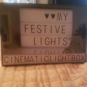 Cinematic light box